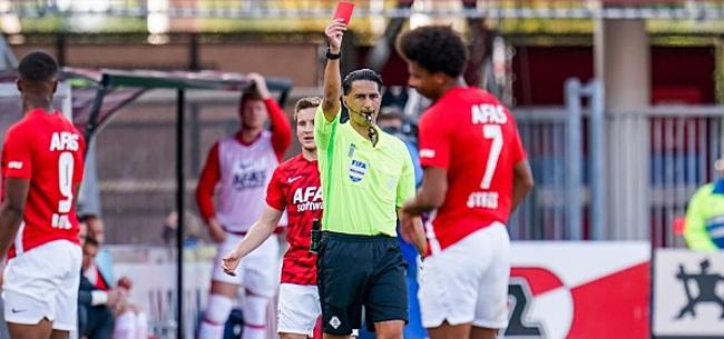 Foto: AZ begint seizoen met puntenverlies tegen PEC: twee directe rode kaarten