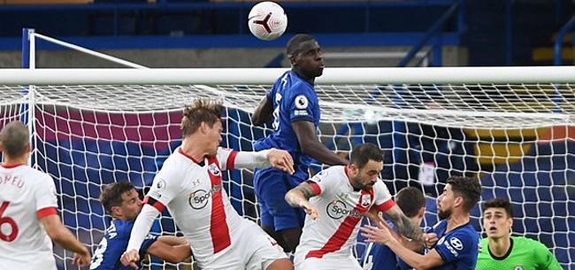 Foto: Chelsea geeft in slotfase zege weg bij debuut Ziyech