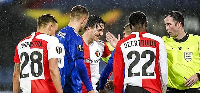 Foto: Felle kritiek op Feyenoord-duo: 'Alles verkeerd'