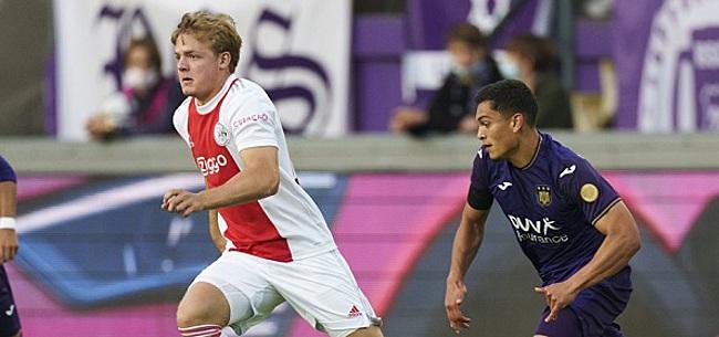 Foto: 'Na goed eerste jaar wil ik Ajax 1 in'