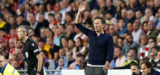 Foto: 'Schmidt tikt PSV-ster op de vingers na uitspraak'