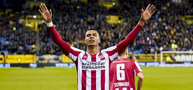 Foto: PSV blikt met video vooruit op kraker tegen Feyenoord