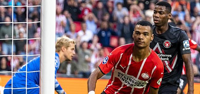 Foto: PSV lijkt al na één helft klaar met FC Midtjylland
