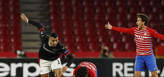 Foto: Fans gaan los tijdens Granada-PSV: