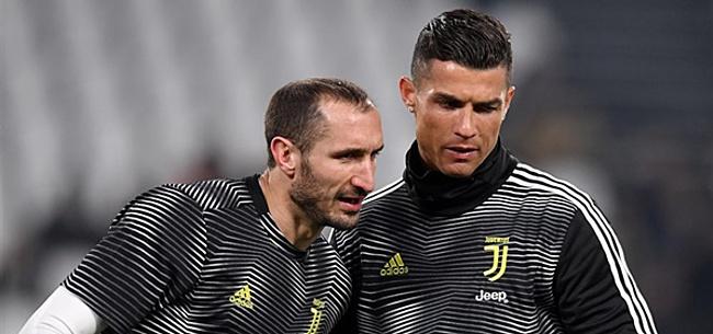 Foto: 'Chiellini belt met Juventus-spelers voor noodscenario'