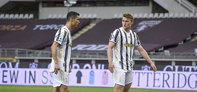 Foto: Serie A: Juve verslaat concurrent Napoli, Inter-trein dendert door