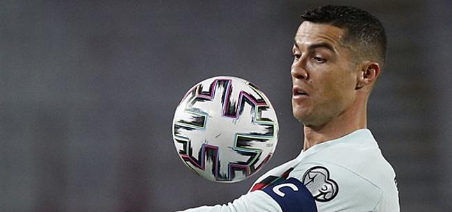 Foto: 'Ronaldo wilde aanvoerdersband in gezicht Makkelie gooien'