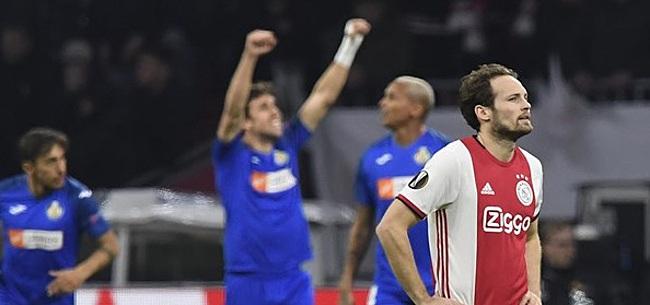 Foto: Ajax-fans reageren massaal op treurend Getafe