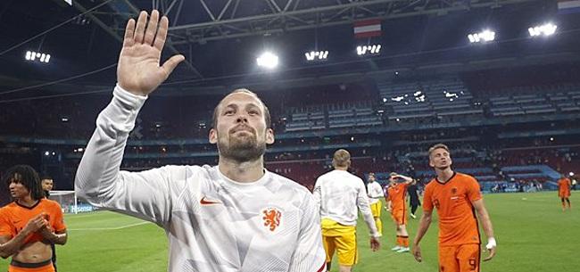 Foto: Blind voorkomt Oranje-rel: