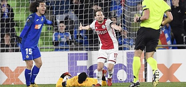 Foto: 'Getafe-uit bewijst: Ajax hangt aan flinterdun draadje'