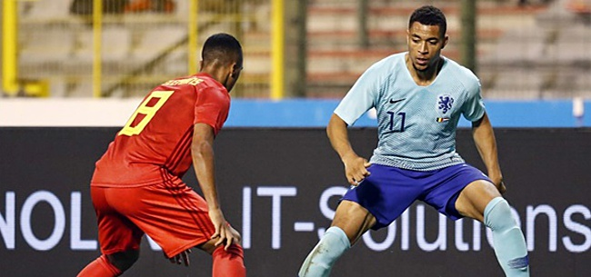 Foto: Tweevoudig Oranje-international maakt winnende goal in topper