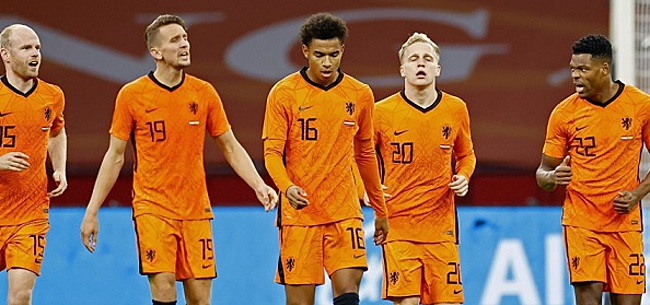 Foto: 'Oranje-international is basisplaats kwijt na Bosnië'
