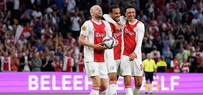 Foto: Klaassen zorgt voor probleem bij Ajax