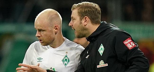 Foto: Klaassen maakt prachtig gebaar met Werder-collega's