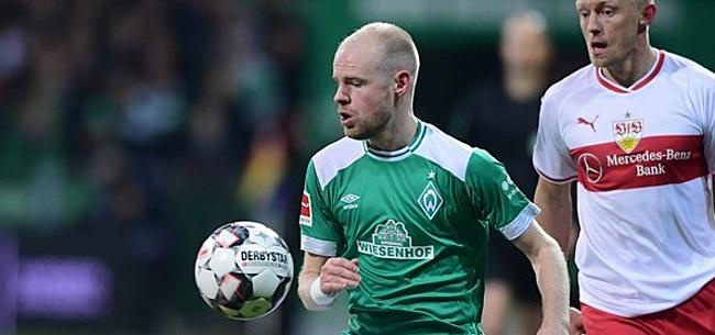 Foto: Klaassen helpt Werder aan punt, Babel verliest ondanks treffer