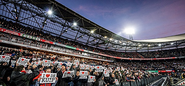 Foto: Feyenoord-trainer Boel over jonge Ajacied: