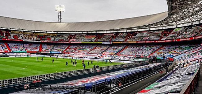 Foto: 'Schande' bij Feyenoord: