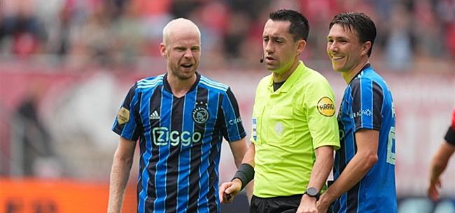 Foto: 'KNVB moet ingrijpen na Ajax-blunder'