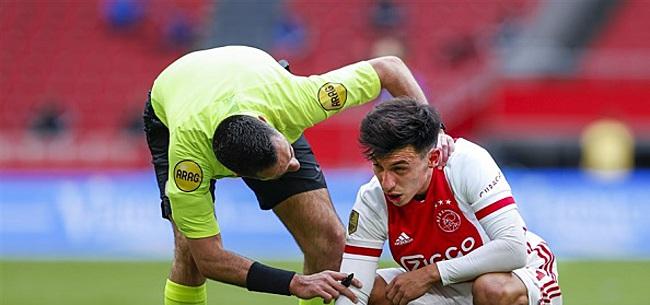 Foto: KNVB deelt tik op de vingers uit na Ajax-Groningen