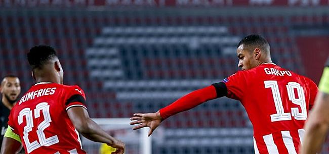 Foto: PSV-uitblinker Gakpo maakt kans op Europese bekroning