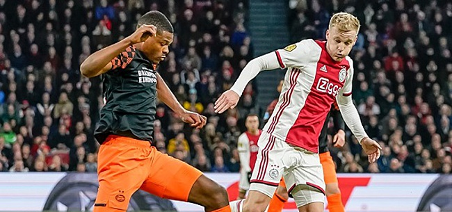 Foto: Eindhovense veeg uit de pan naar Ajax: 'Kinderachtig gelul'