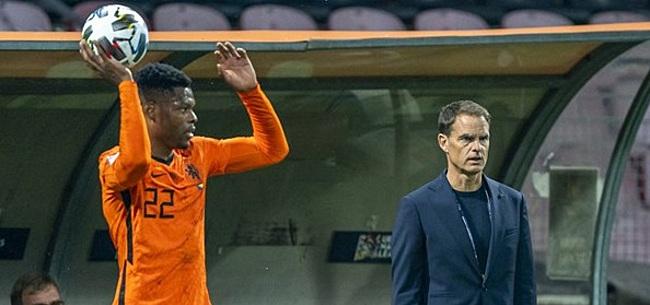 Foto: Slechts één man kan Oranje redden