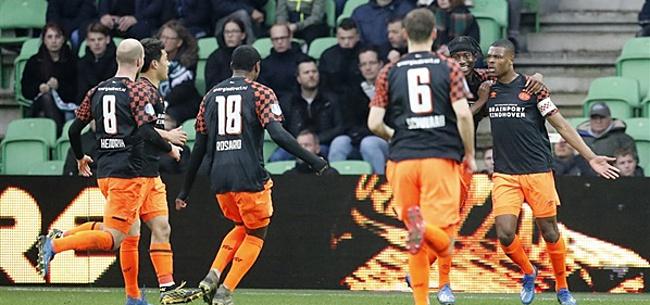 Foto: PSV mag Dumfries en Unnerstall bedanken voor zege