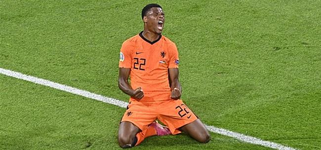 Foto: UEFA roept Dumfries uit tot Man of the Match