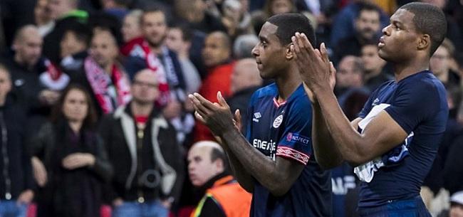 Foto: Dumfries hekelt 'bepaalde PSV-supporters'