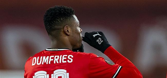 Foto: Dumfries droomt hardop van transfer: 'Een ideaal scenario'