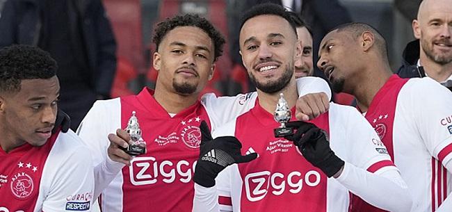 Foto: 'Bijzonder dat ik in een jaar drie keer bij Ajax mag tekenen'