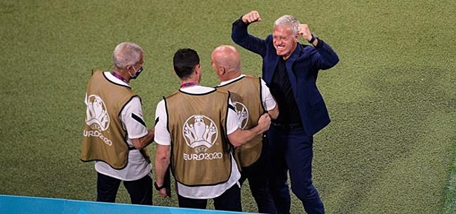 Foto: Didier Deschamps trekt zich niets aan van kritiek