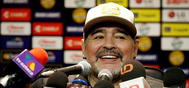 Foto: Ook Diego Maradona in isolatie door corona