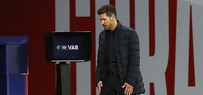 Foto: Simeone hekelt 'ziekelijk gedrag' eigen Atléti-fans