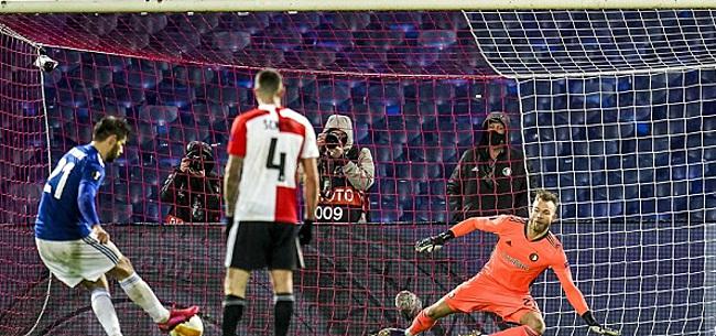 Foto: Dinamo Zagreb bezorgt Feyenoord nieuwe deceptie