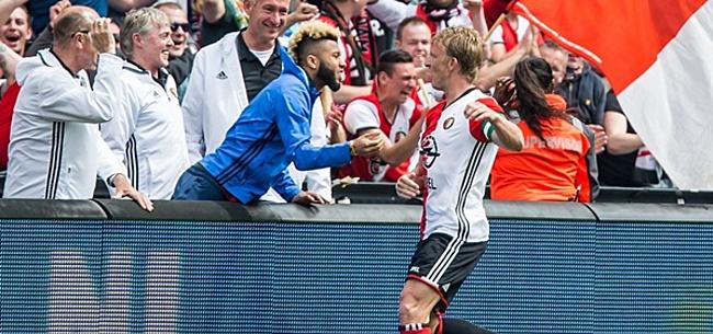 Foto: Kuyt rekent af met Feyenoorder: 'Ze hadden hem niet moeten kopen'