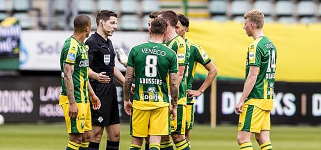 Foto: ADO stomverbaasd na dubieuze goal: