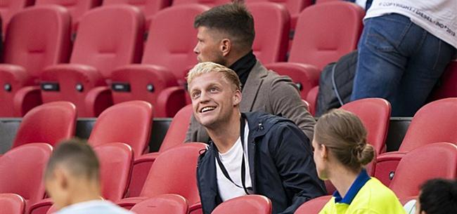 Foto: Van de Beek heeft boodschap voor Ajax-supporters