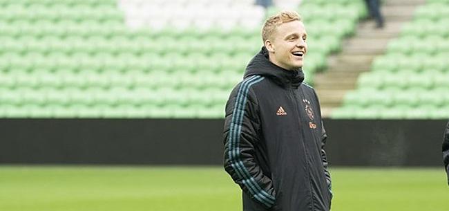 Foto: Van de Beek spreekt zich zéér duidelijk uit over mogelijke transfer