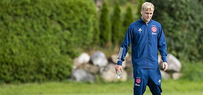 Foto: Blind adviseerde Van de Beek: 'Pogba echt een leuke gast'