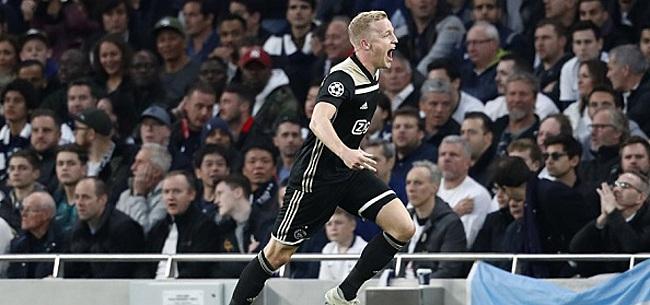 Foto: 'Ajax beging enorme blunder met Van de Beek en krabt zich nu achter de oren'