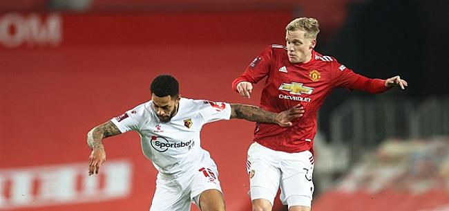 Foto: Van de Beek loopt bij Manchester United groot risico