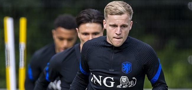 Foto: 'KNVB neemt Van de Beek in bescherming'