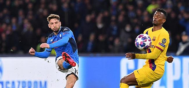 Foto: UEFA deelt opvallende boete uit aan Napoli en Barcelona