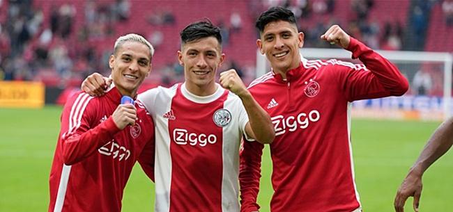 Foto: Ajax slaat grote slag: contract tot 2025