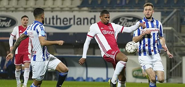 Foto: Fans Heerenveen én Ajax halen uit: