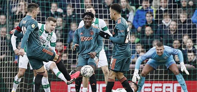 Foto: Vermoedelijke opstelling Ajax: 'Blind en Ziyech in de basis'