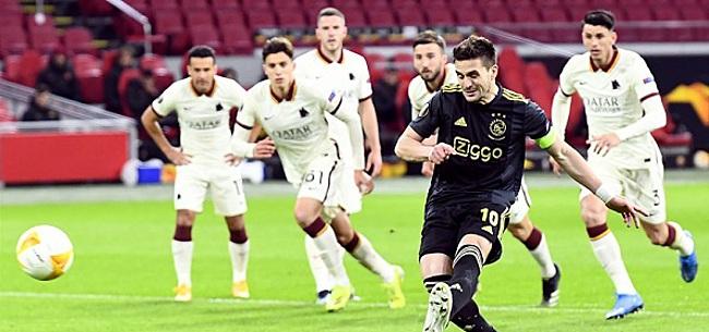 Foto: Ajax krijgt officiële waarschuwing UEFA voor actie ballenjongen