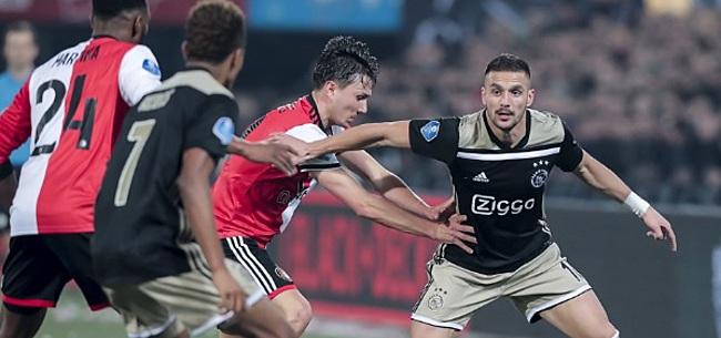 Foto: Twitteraccount Ajax lacht om transferaankondiging Feyenoord