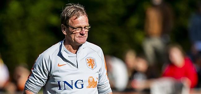 Foto: Lodeweges interim-bondscoach Oranje na vertrek Koeman